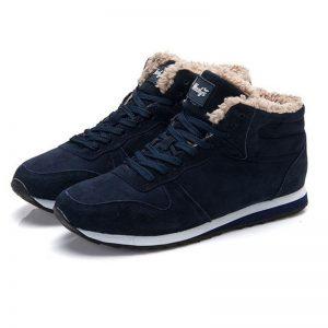Men Boots Brand Winter Shoes Men Warm Winter Boots Snow Ankle Boots For Mens Sneakers Black Couple Shoes Botas Hombre Plus Size