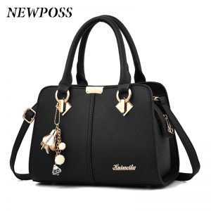 Newposs Famous Designer Brand Bags Women Leather Handbags 2020 Luxury Ladies Hand Bags Purse Fashion Shoulder Bags