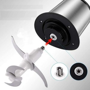 Stainless Electric Yam Pounding Machine (4 Blades Yam Pounder)