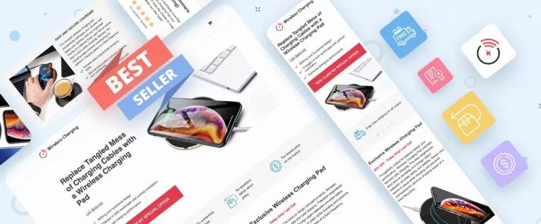 Lead Generation Template of Landing Pages